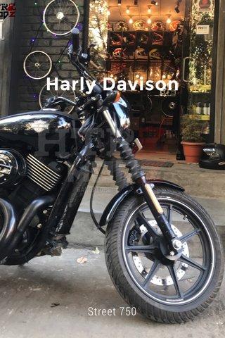Harly Davison Street 750