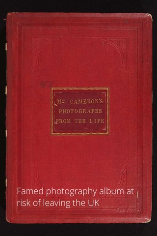 Famed photography album at risk of leaving the UK