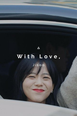 With Love, Jisoo