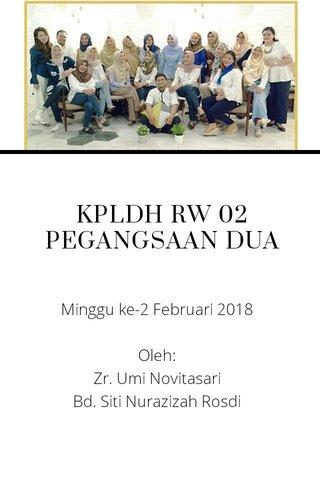 KPLDH RW 02 PEGANGSAAN DUA
