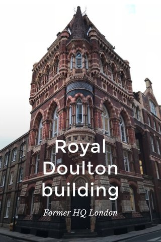 Royal Doulton building Former HQ London