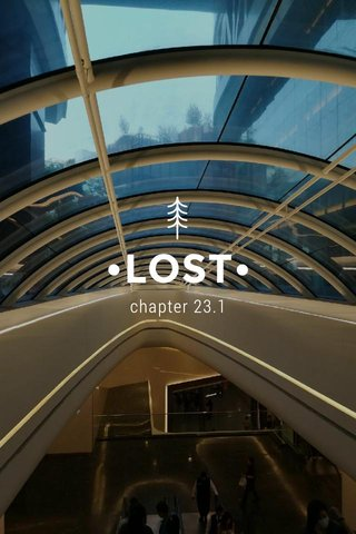 •LOST• chapter 23.1
