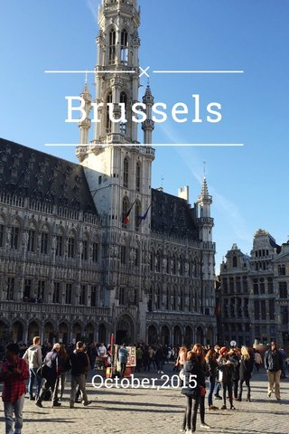 Brussels October,2015