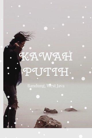 KAWAH PUTIH Bandung, West Java
