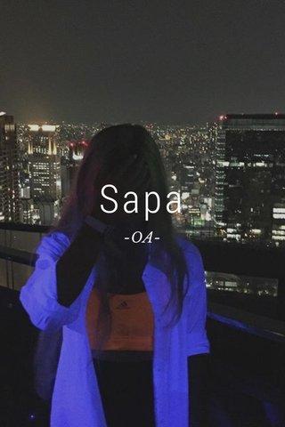 Sapa -OA-