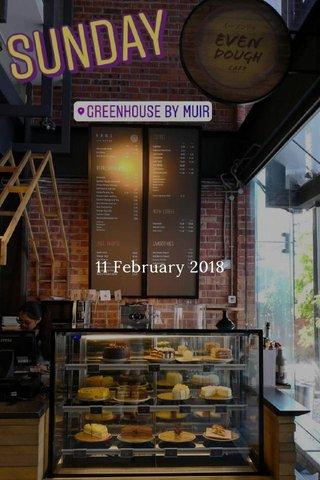 11 February 2018