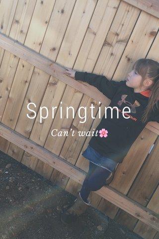 Springtime Can't wait🌸