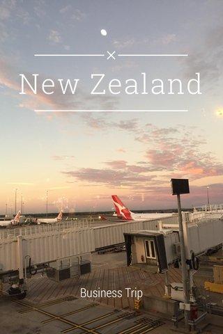 New Zealand Business Trip
