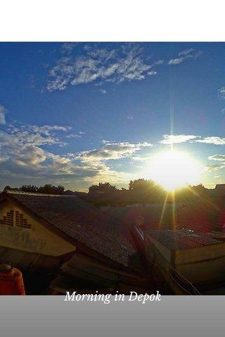 Morning in Depok