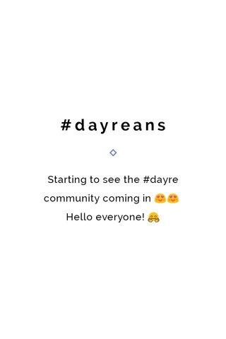 #dayreans