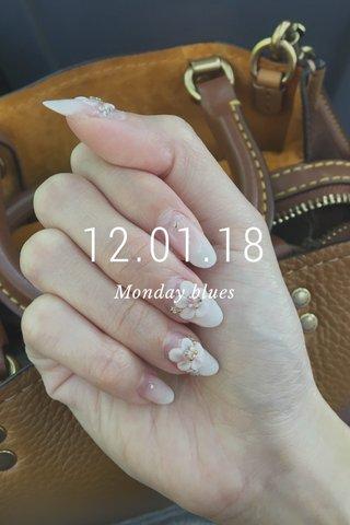 12.01.18 Monday blues