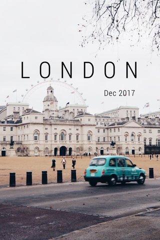 LONDON Dec 2017