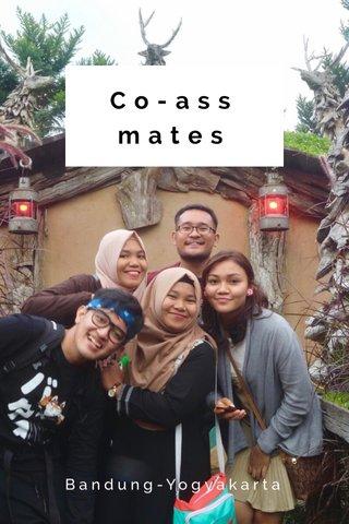 Co-ass mates Bandung-Yogyakarta