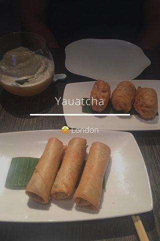 Yauatcha 🤩 London