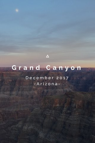 Grand Canyon December 2017 -Arizona-