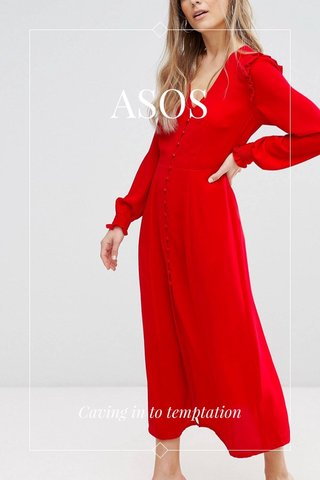 ASOS Caving in to temptation