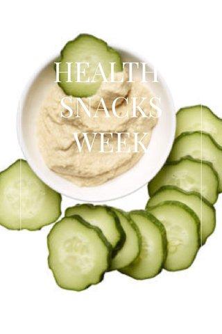 HEALTHY SNACKS WEEK Day 2