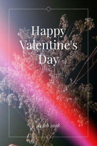 Happy Valentine's Day 14 feb 2018