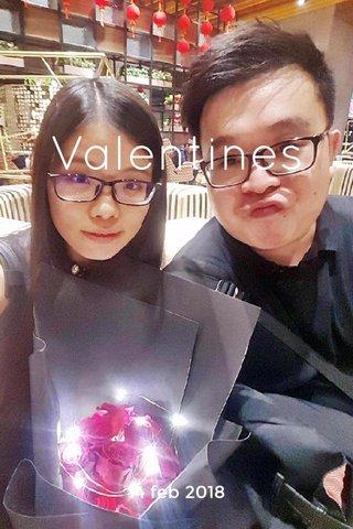Valentines 14 feb 2018