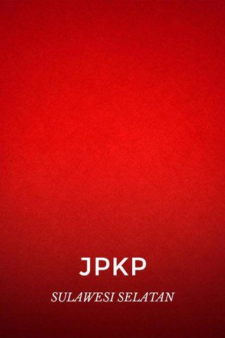 JPKP SULAWESI SELATAN