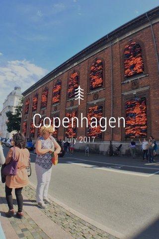 Copenhagen July 2017