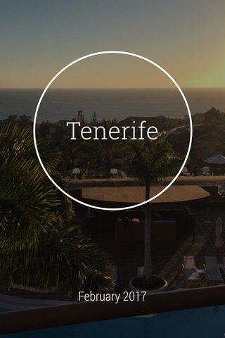 Tenerife February 2017