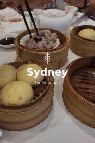 Sydney Dimsum bae