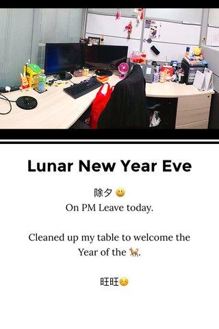 Lunar New Year Eve