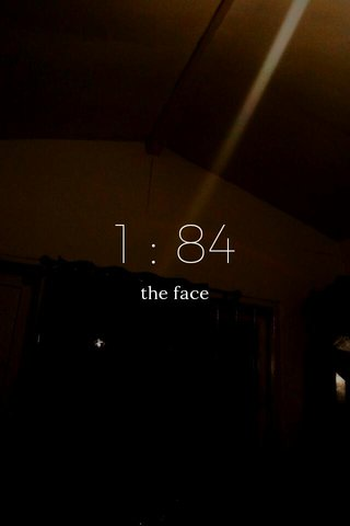 1 : 84 the face