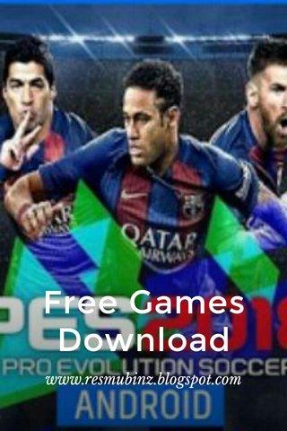 Free Games Download www.resmubinz.blogspot.com