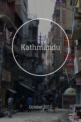 Kathmandu October 2017