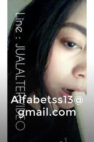 Alfabetss13@gmail.com