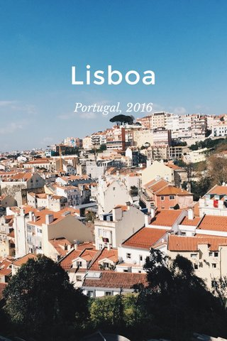 Lisboa Portugal, 2016