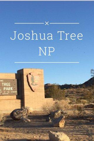 Joshua Tree NP