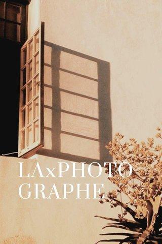 LAxPHOTOGRAPHE