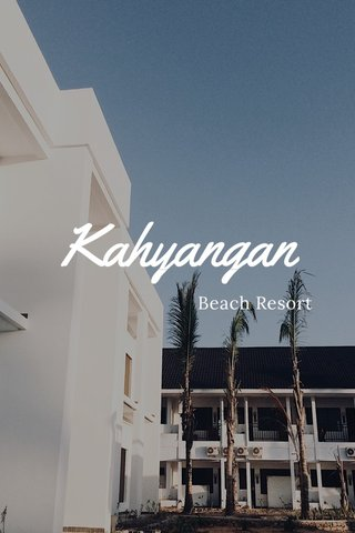 Kahyangan Beach Resort