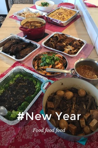 #New Year Food food food