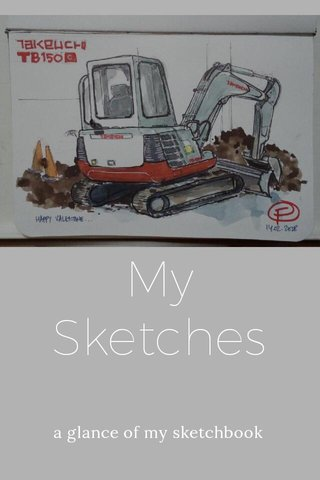 My Sketches a glance of my sketchbook