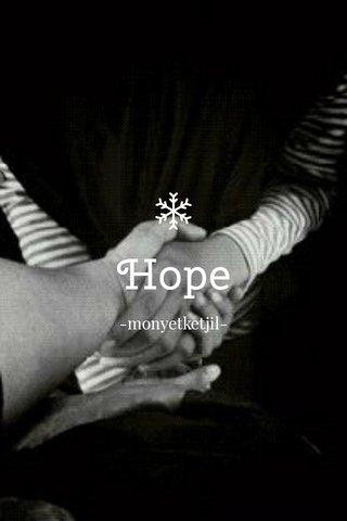 Hope -monyetketjil-