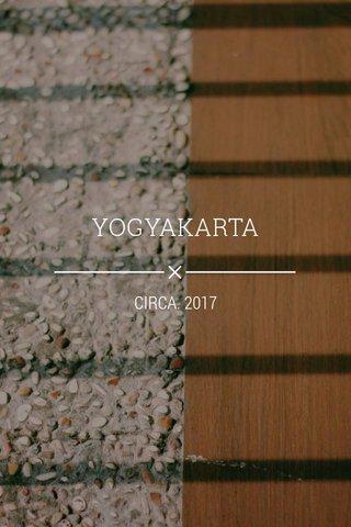 YOGYAKARTA CIRCA. 2017