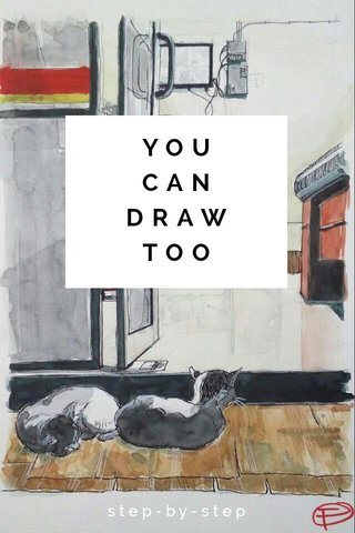 YOU CAN DRAW TOO step-by-step