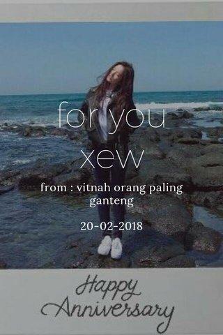 for you xew from : vitnah orang paling ganteng 20-02-2018