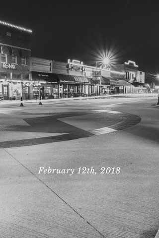 February 12th, 2018
