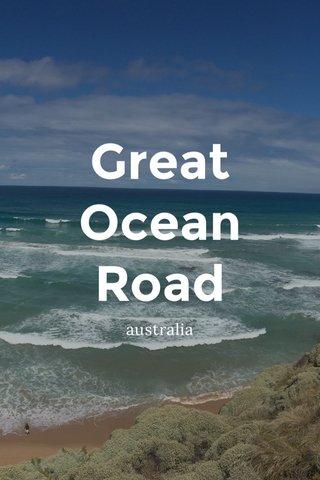 Great Ocean Road australia