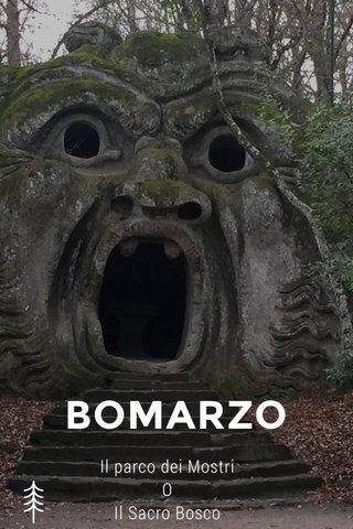 BOMARZO Il parco dei Mostri O Il Sacro Bosco