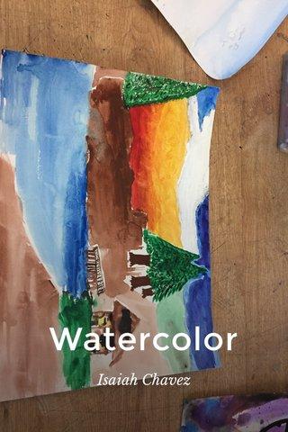 Watercolor Isaiah Chavez
