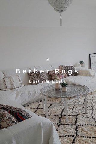 Berber Rugs Laith & Leila