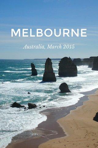 MELBOURNE Australia, March 2015