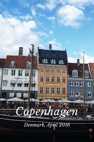 Copenhagen Denmark, April 2016