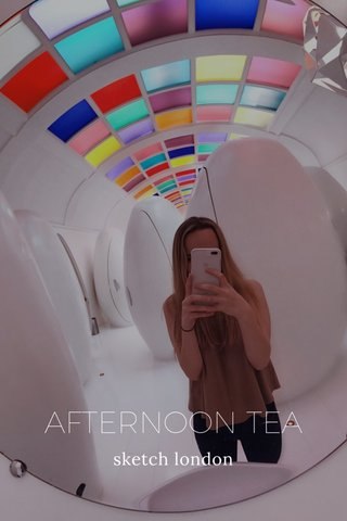 AFTERNOON TEA sketch london